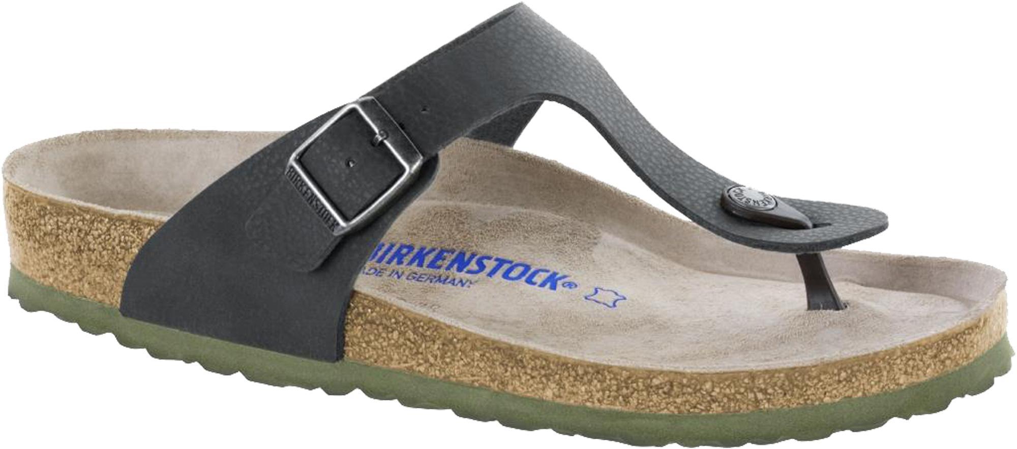 Infradito Birkenstock Gizeh Soft 1009962 Nero Desert Soil (39-46)  092c6357d52