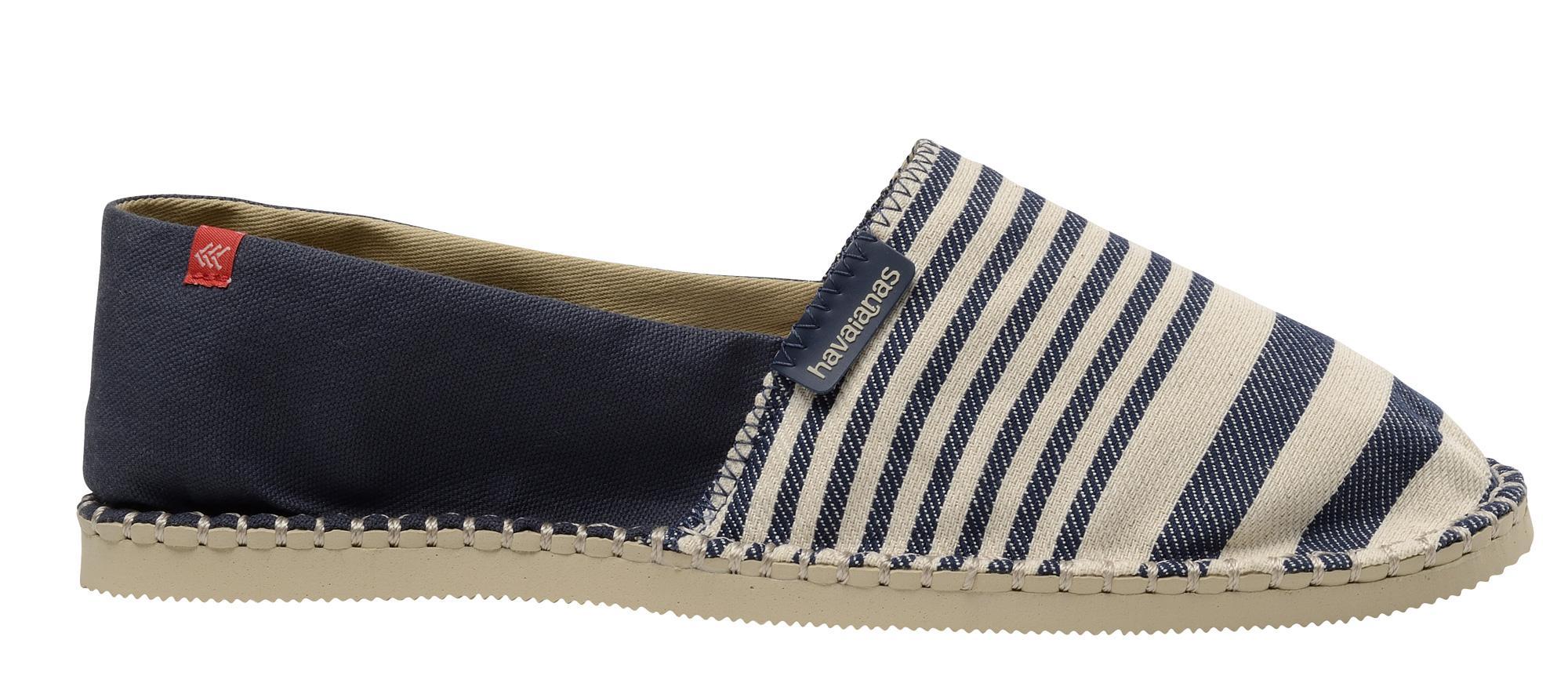 0e196a4ac722bd Espadrillas Havaianas Origine II scarpe uomo Blu/Beige 41392820716 ...