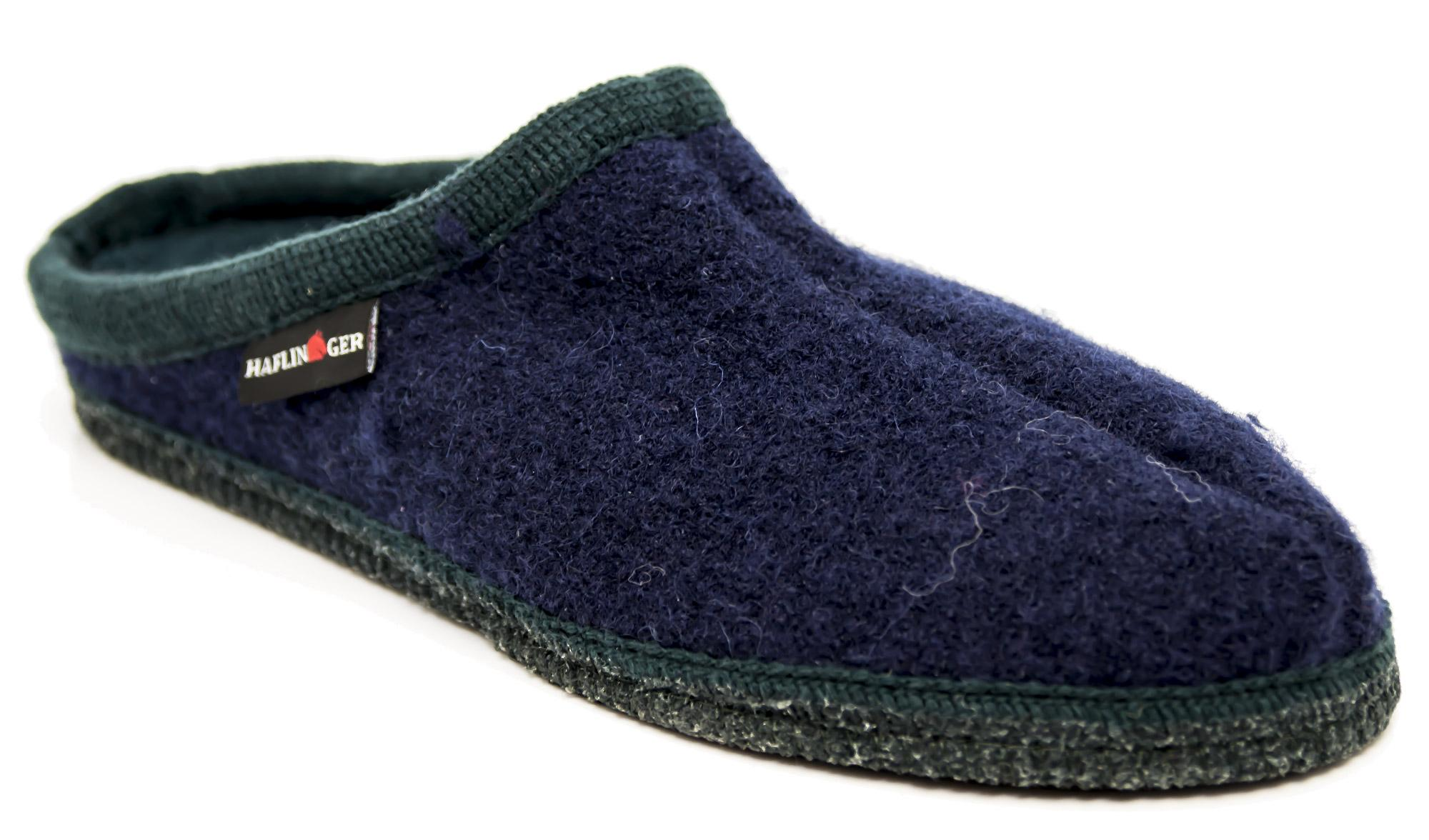 buy popular 98210 6259a Dettagli su Pantofole HAFLINGER Alaska-Jacquar 611001500 in lana cotta
