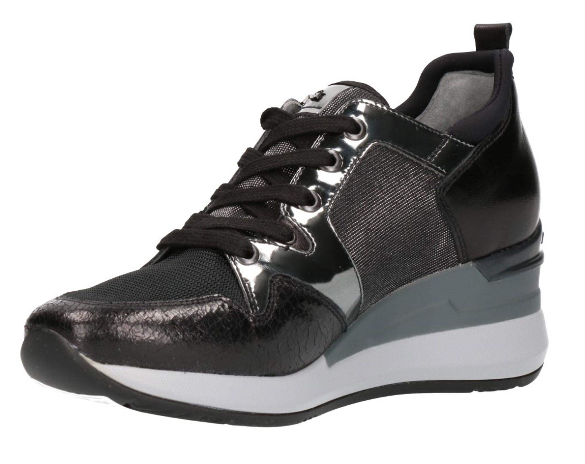Sneaker 6610 A806610 Nerogiardini Con Scarpe Sportive 135 Zeppa wZU1w07r