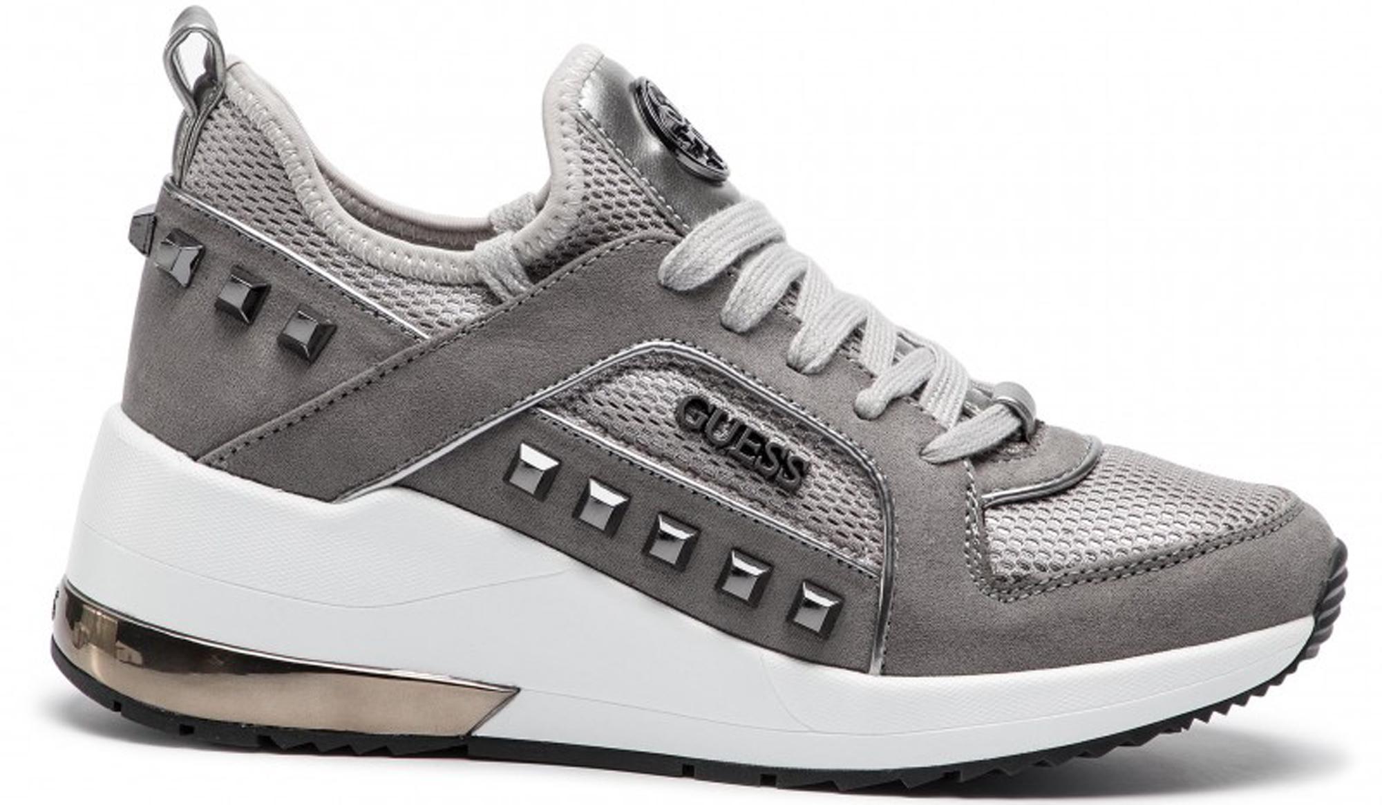 Sneaker Guess FL7BRA LEL12 scarpe donna maculate con borchie