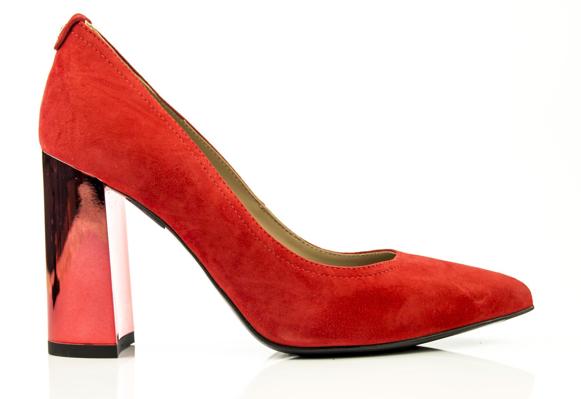 finest selection 4f59d b7225 Dettagli su Decollete NeroGiardini P907930-600 907930 scarpe donna rosse  eleganti