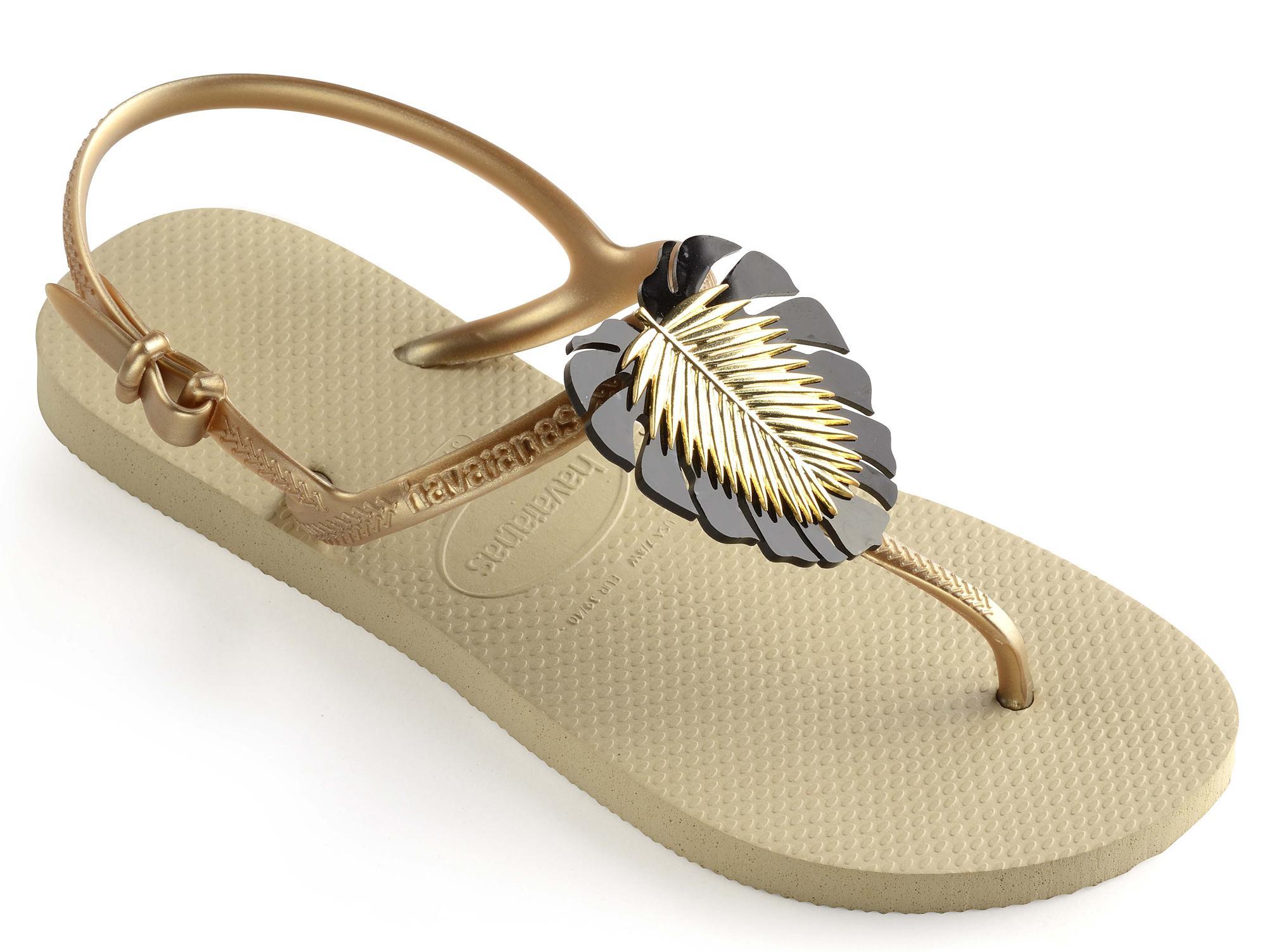 scarpe casual acquista originale consegna veloce Dettagli su Sandali infradito Havaianas Freedom Metal donna 41413060154