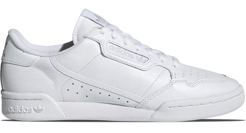 Dettagli su Sneakers Adidas Continental 80 CG7120 scarpe uomo in pelle bianca