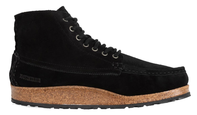 Tutto il tempo Derivazione sofisticato  Polacchino Marton Birkenstock 1014990 scarpe uomo in camoscio nero (38-46)    eBay